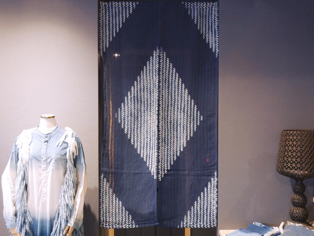 染色家・伊藤喜一朗作品「Noren Diamond」