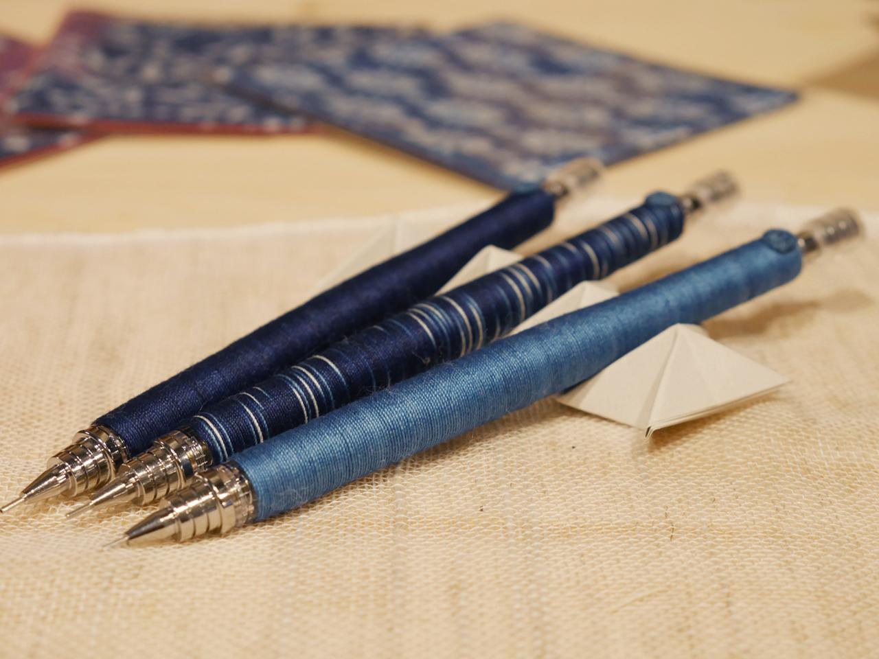 藍染シャープペン