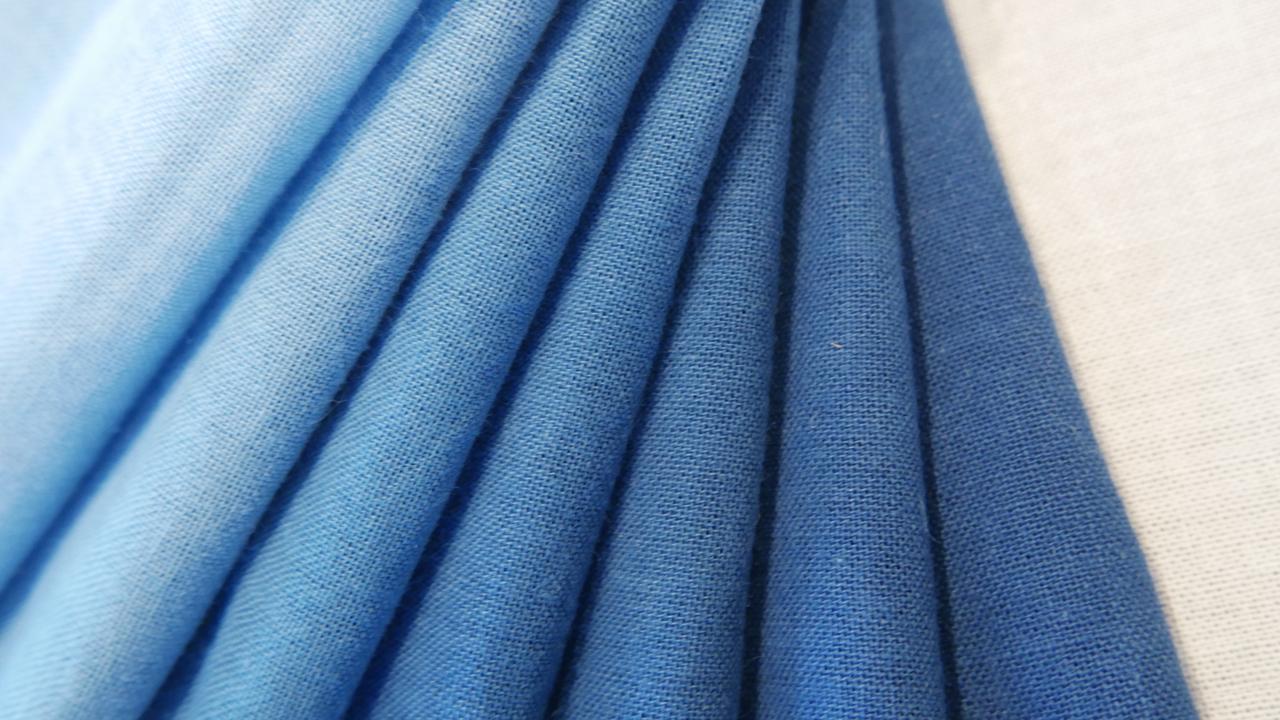 人宿藍染工房|本藍染のカラーサンプル