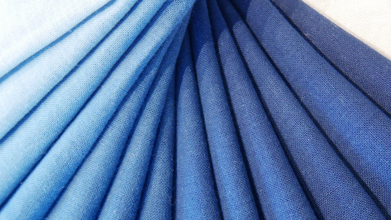 人宿藍染工房|本藍染ワークショップのカラーサンプル