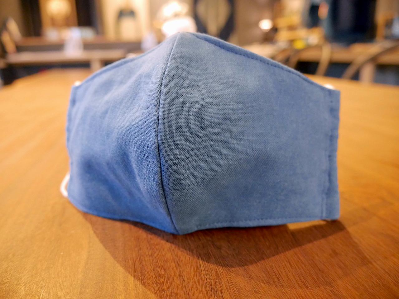 藍のマスク(アイノマスク):人宿藍染工房