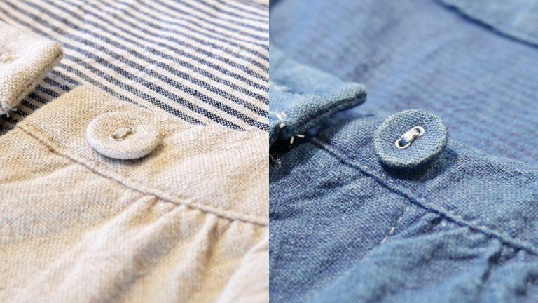 染直して愛着が増す、レディースジャケット染め直しの例をご紹介します。:人宿藍染工房のセミオーダー染め直し