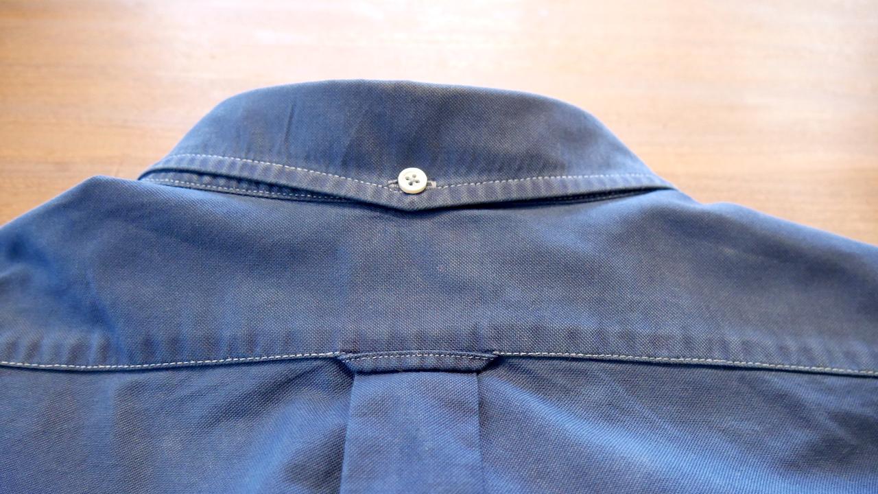 【藍染リメイク】スタンダードなオックスフォードシャツが生まれ変わりました