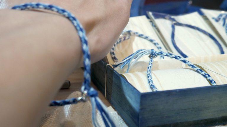 【新商品】藍染ブレスレットで夏のオシャレを楽しもう
