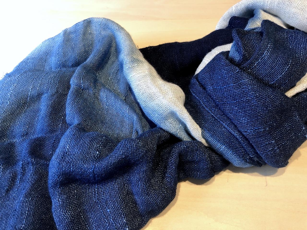 【8.19開催】藍染で作るストール ワークショップ