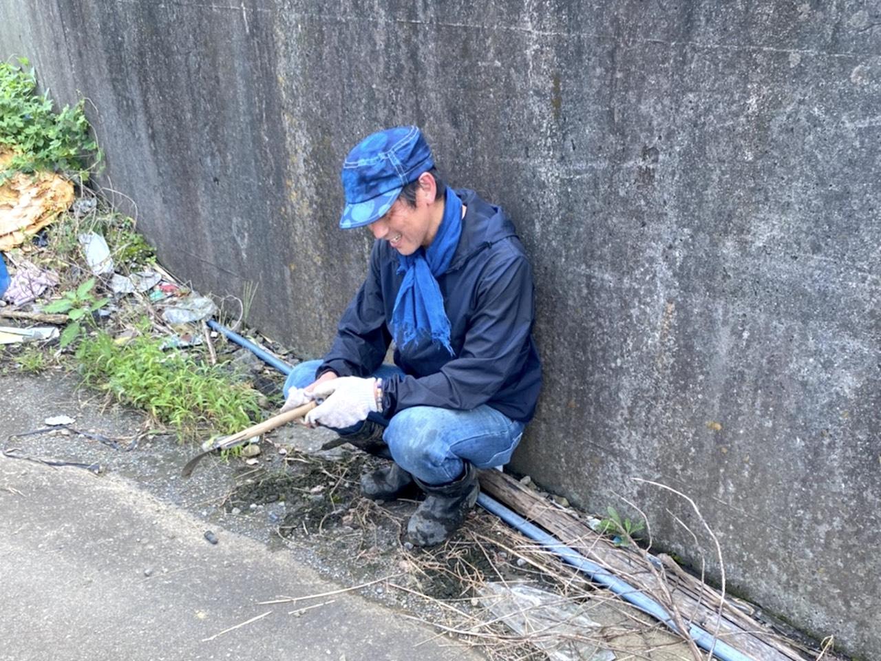 静岡藍:種から染までを静岡で!